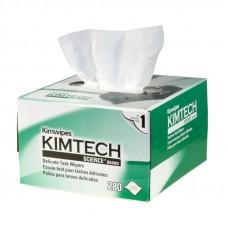 Салфетки безворсовые для протирки оптики KimWipes Kimtech сухие