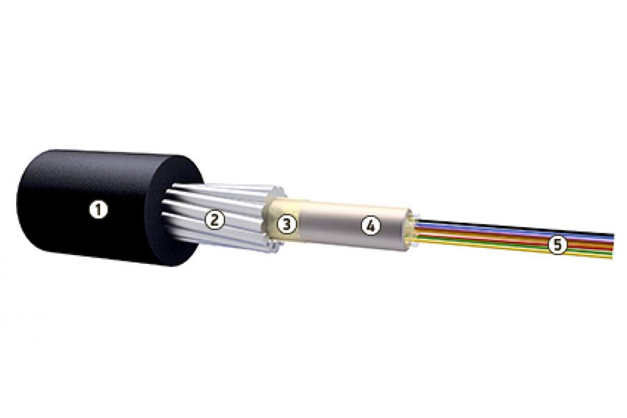 Кабель оптический ОКБНГ(А)-HF-Т-А4-3.0